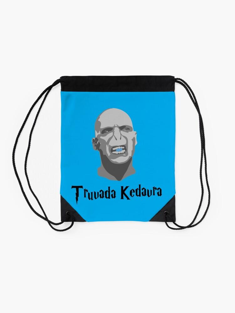 Alternate view of Truvada Kedavra Drawstring Bag