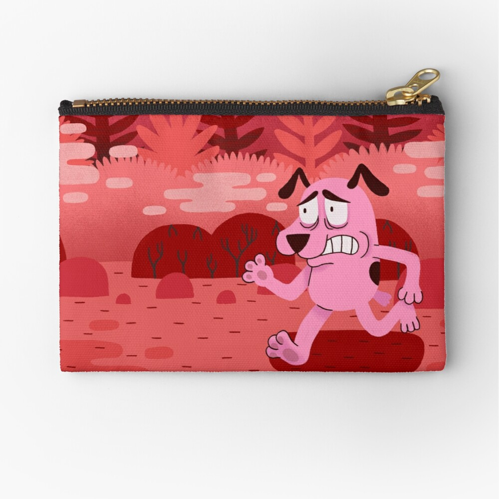 Fear and Courage Zipper Pouch
