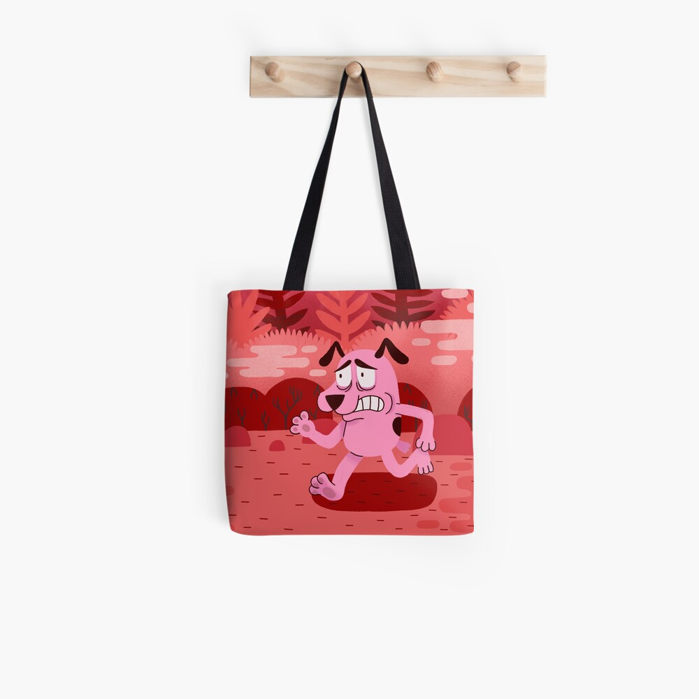 Fear and Courage Tote Bag