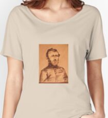 General Grant  pencil sketch Women's Relaxed Fit T-Shirt