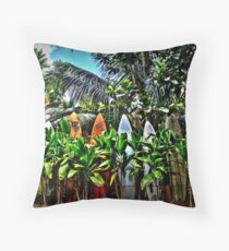 A Fence In Haiku Throw Pillow