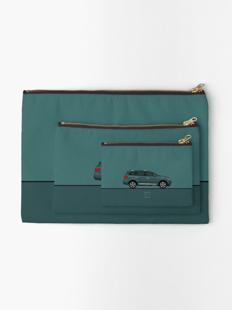 Alternate view of Visit idrewyourcar.com to find hundreds of car profiles! Zipper Pouch