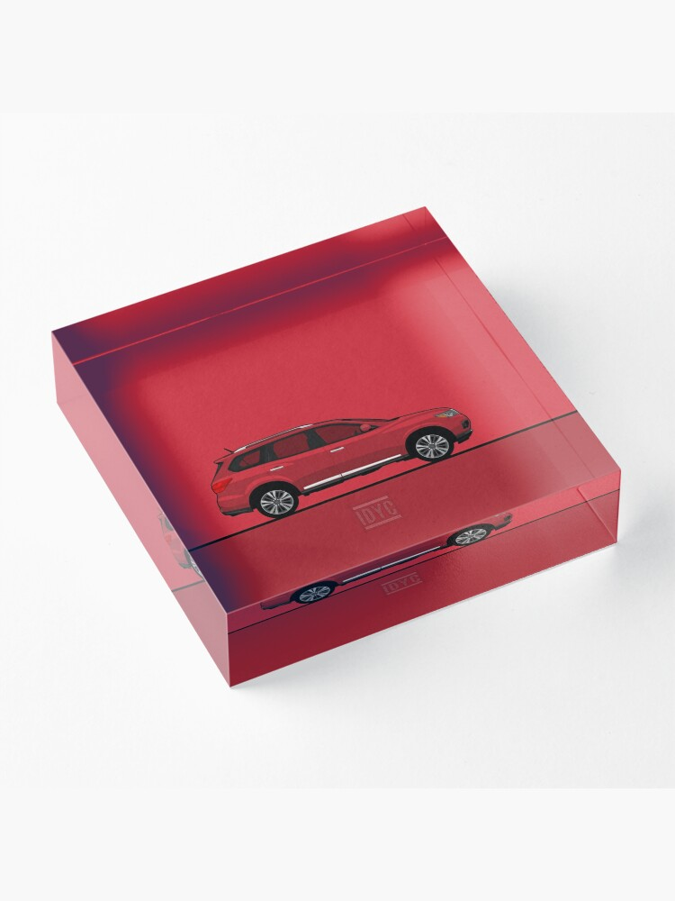Alternate view of Visit idrewyourcar.com to find hundreds of car profiles! Acrylic Block