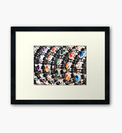Bracelet Tube Framed Print