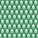 Spring Green Scallops by Eric Pauker