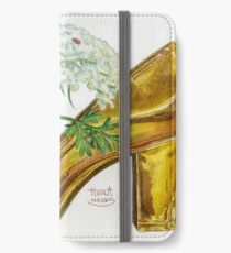Pika-Shoe: Picky Pika with Plant Parasol & Posh Pad iPhone Wallet/Case/Skin