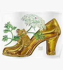 Pika-Shoe: Picky Pika with Plant Parasol & Posh Pad Poster
