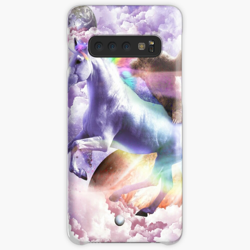 Epic Space Sloth Riding On Unicorn Case & Skin for Samsung Galaxy