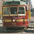 Melbourne Tram by Michelle Fluri