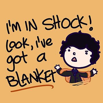 I'VE GOT A BLANKET! by saltyblack