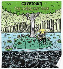 Fischerei in Cavetown Poster