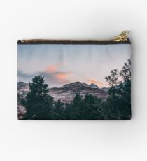 Bolso de mano Atardecer sobre el Parque Nacional Zion en Utah
