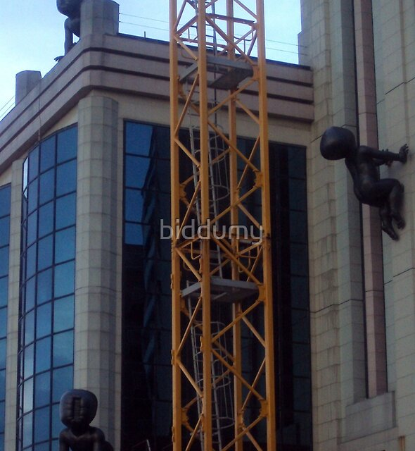 Giant Babies by biddumy