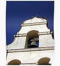 Mission San Juan Bautista - Bell Poster