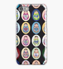 cute doll matryoshka iPhone Case/Skin