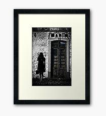 'till death do us part Framed Print