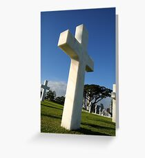 Fallen Soldiers in the Pacific WWII Greeting Card