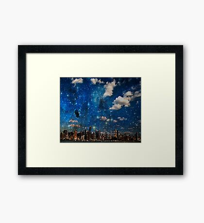 The City in Which I Love You Framed Print