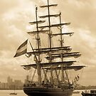 Tall ships by karljzeller