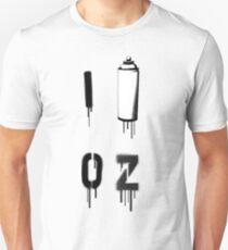I PAINT OZ Unisex T-Shirt