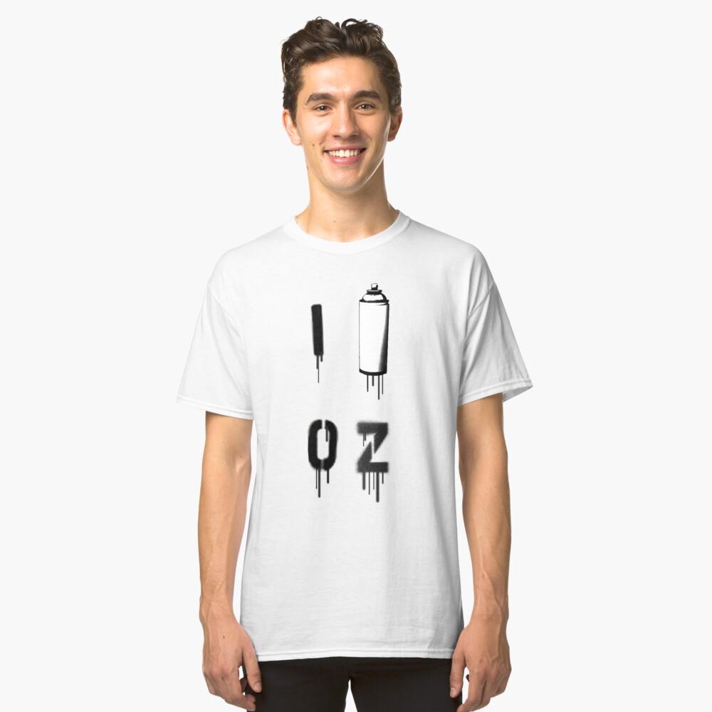 I PAINT OZ Classic T-Shirt Front