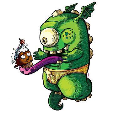 Oh No! Cupcake Monster by randycrider