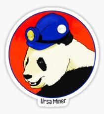 Ursa Miner Sticker