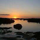 Sunset on Fire by Emma Tepania