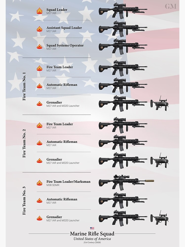 Weapons of the U.S. Marine Rifle Squad (2020) by nothinguntried