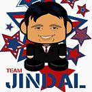 Team Jindal Politico'bot Toy Robot by Carbon-Fibre Media