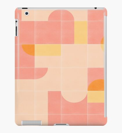 Retro Tiles 02 #redbubble #pattern iPad Case/Skin