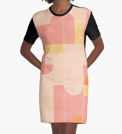 Retro Tiles 02 #redbubble #pattern Graphic T-Shirt Dress