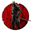 Japanischer dunkler Samurai von DCornel