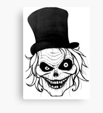Hatbox Ghost Canvas Print