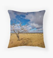 Lonely Tree - Steinfeld, South Australia Throw Pillow