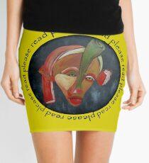 Page Turner, Please Read Mini Skirt