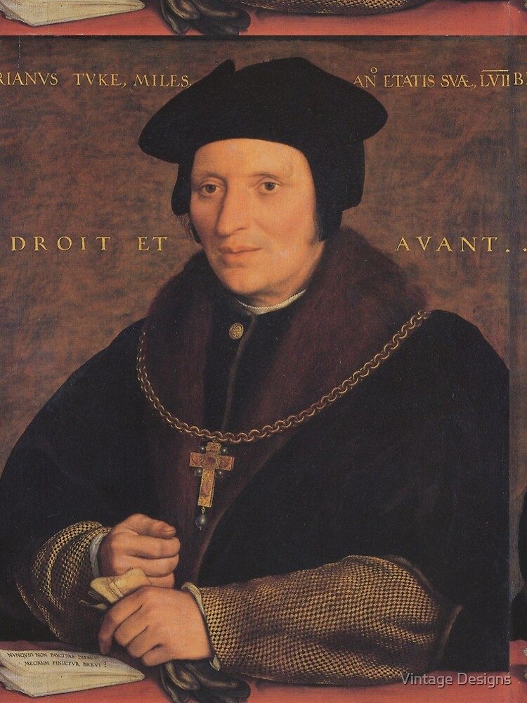 Brian Tuke, by Hans Holbein the Younger by Geekimpact