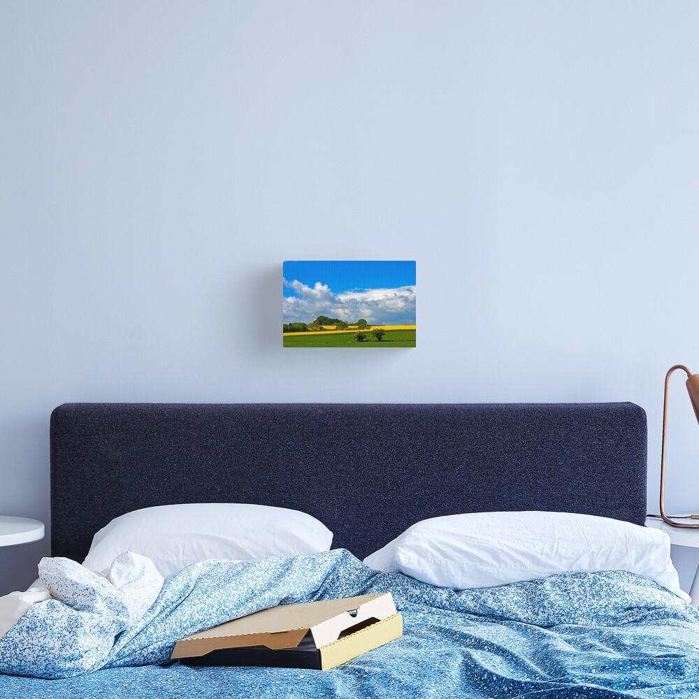 Summer fields 1 Canvas Print