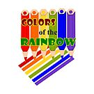 Rainbow Color  Pencils (2465 Views) by aldona
