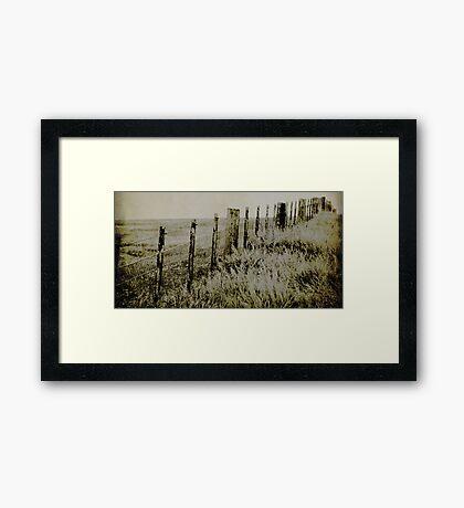 Rabbit Proof Fence Framed Print