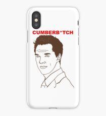 Cumberb*tch iPhone Case/Skin