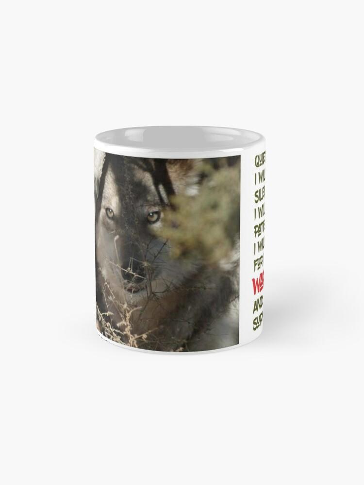 Alternate view of I Am Wolf Classic Mug