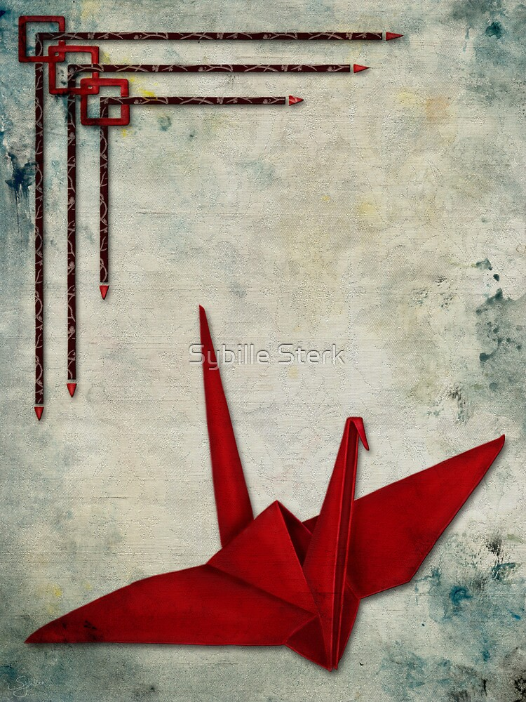 Paper Crane by Sybille Sterk