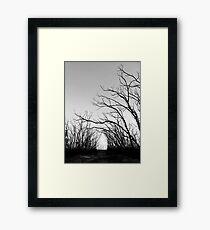 Eerie Framed Print