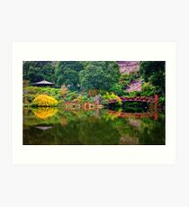 The Rhododendron Gardens Art Print