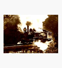 An iconic engine... Photographic Print