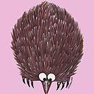 Echidna Pale Pink by Lou Van Loon