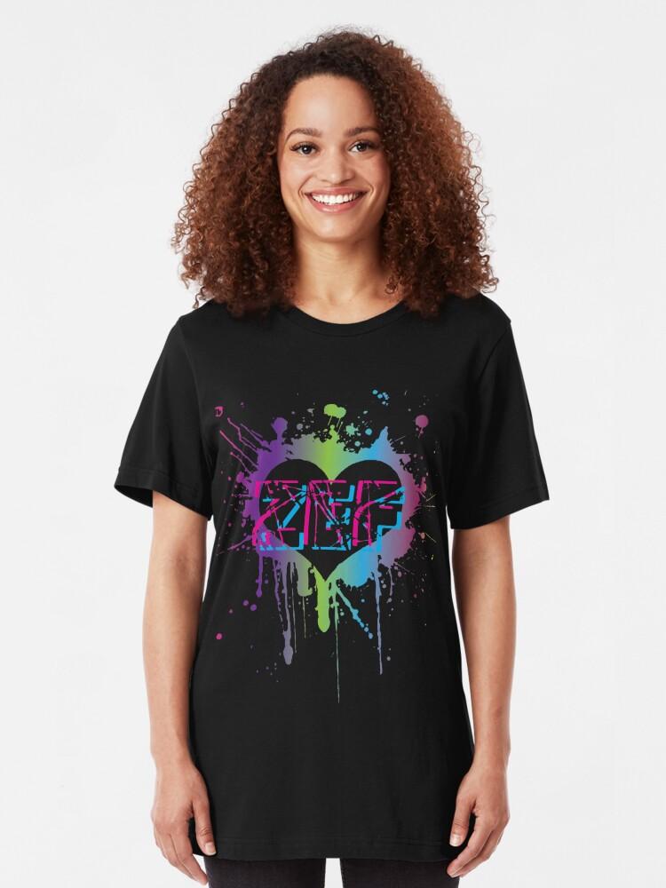 Zef Lifestyle Die Antwoord Cool No Regrets Yolandi Visser Ninja T-Shirt  Gift Xmas Birthday   Slim Fit T-Shirt