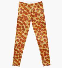 d6c5744a230fde Pizza Leggings   Redbubble