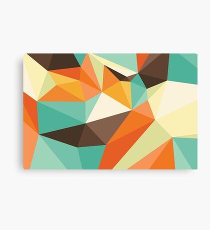 Shard – Retro Canvas Print
